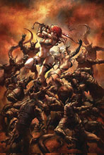 Image: Red Sonja: Age of Chaos #6 (variant cover - Quah virgin) - Dynamite