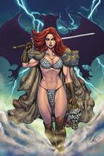 Image: Red Sonja: Age of Chaos #6 (variant cover - Garza virgin) - Dynamite