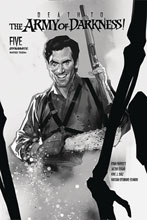 Image: Death to the Army of Darkness #5 (incentive 1:30 cover - Oliver B&W)  [2020] - Dynamite