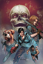 Image: Death to Army of Darkness #5 (variant cover - Davila virgin) - Dynamite