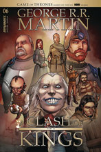 Image: George R.R. Martin's A Clash of Kings #6 (cover B - Rubi) - Dynamite