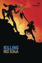 Image: Killing Red Sonja #4 (cover B - Mooney Homage) - Dynamite