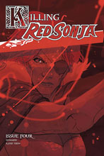Image: Killing Red Sonja #4 (incentive 1:20 cover - Ward Color) - Dynamite