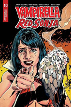 Image: Vampirella / Red Sonja #10 (incentive 1:7 cover - Mooney Homage)  [2020] - Dynamite