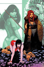 Image: Vampirella / Red Sonja #10 (incentive 1:30 cover - Moss virgin) - Dynamite