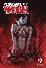 Image: Vengeance of Vampirella #9 (cover A - Parrillo) - Dynamite