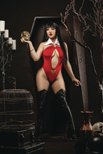 Image: Vengeance of Vampirella #9 (incentive 1:20 cover - Ramirez Cosplay virgin) - Dynamite