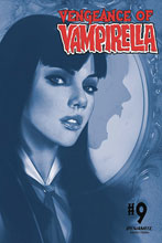 Image: Vengeance of Vampirella Vol. 02 #9 (incentive 1:40 cover - Oliver tinted) - Dynamite