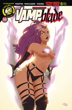 Image: Vampblade #50 (cover F - Huang risque) - Action Lab - Danger Zone