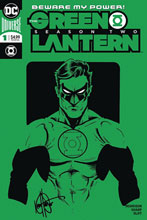 Image: Green Lantern Season 2 #1 (DFE remarked cover -) (DFE signed - Haeser) - Dynamic Forces