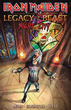 Image: Iron Maiden Legacy of the Beast Vol. 02: Night City SC  - Heavy Metal Magazine