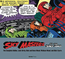 Image: Sky Masters of Space Force Complete Dailies 1958-1961 SC  - Hermes Press