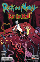 Image: Rick and Morty Go to Hell #3 (cover A - Oroza)  [2020] - Oni Press Inc.
