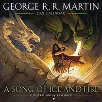 Image: George R.R. Martin's Song of Ice & Fire 2021 Wall Calendar  - Bantam / Spectra