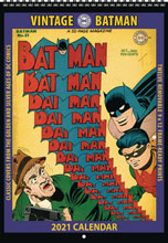 Image: Vintage DC Comics Batman 2021 Wall Calendar  - Asgard Press