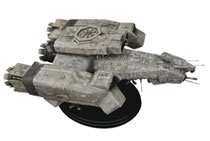 Image: Alien Large Scale Model: USCSS Nostromo  - Hollywood Collectibles Group