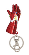 Image: Marvel Avengers Pewter Keyring: Iron Man - Nano Gauntlet  - Monogram Products