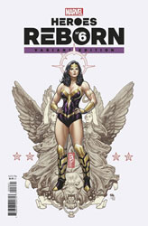 Image: Heroes Reborn #6 (incentive 1:25 cover - Frank Cho) - Marvel Comics