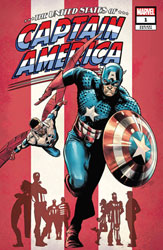 Image: United States of Captain America #1 (incentive 1:50 cover - Carnero) - Marvel Comics