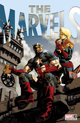 Image: The Marvels #3 (incentive 1:25 cover - Johnson) - Marvel Comics