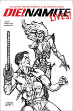 Image: DIE!NAMITE Lives! #1 (incentive 1:20 cover - Linsner pencil art) - Dynamite