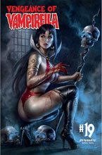 Image: Vengeance of Vampirella #19 (cover A - Parrillo) - Dynamite