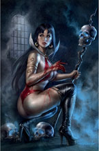 Image: Vengeance of Vampirella #19 (variant cover - Parrillo virgin) - Dynamite