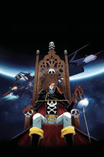 Image: Space Pirate: Captain Harlock #1 (incentive 1:50 cover - Andie Tong virgin) - Ablaze