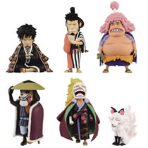 Image: One Piece WCF Wano Country 18 12-Piece Blind Mystery Box Figure Assortment  - Banpresto