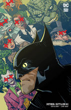Image: Batman: Reptilian #1 (variant card stock cover - Cully Hamner) - DC Comics