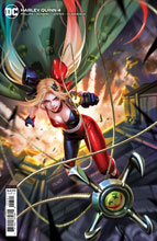 Image: Harley Quinn #4 (variant card stock cover - Derrick Chew) - DC Comics