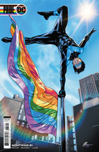 Image: Nightwing #81 (variant card stock Pride cover - Travis Moore) - DC Comics
