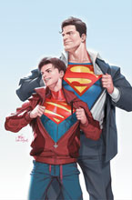 Image: Superman #32 (variant card stock cover - Inhyuk Lee) - DC Comics