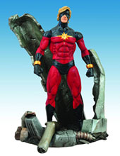 Image: Marvel Select Action Figure: Captain Marvel  -