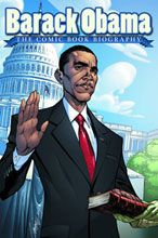 Image: Barack Obama: The Comic Book Biography HC  - IDW Publishing