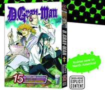Image: D. Gray-Man Vol. 15 SC  - Viz Media LLC