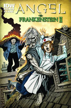 Image: Angel vs. Frankenstein II  - IDW Publishing