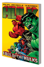 Image: Hulk Vol. 05: Fall of the Hulks SC  - Marvel Comics