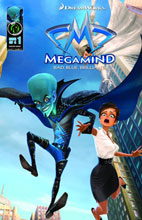 Image: Megamind Movie Prequel: Bad, Blue, Briliant SC  - Ape Entertainment