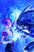 Image: Mass Effect: Invasion #1 (Carnevale cover) - Dark Horse