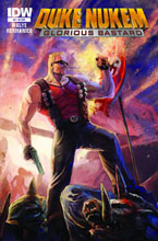 Image: Duke Nukem: Glorious Bastard #4 (10-copy incentive cover) (v10) - IDW Publishing