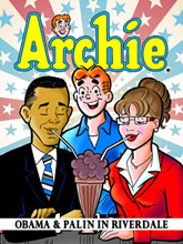 Image: Archie, Obama & Palin in Riverdale SC  - Archie Comic Publications