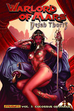 Image: Warlord of Mars: Dejah Thoris Vol. 01: Colossus of Mars SC  - D. E./Dynamite Entertainment
