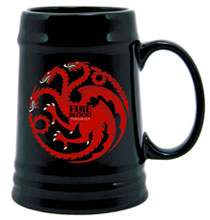 Image: Game of Thrones Ceramic Stein Targaryen Sigil  - Dark Horse Comics