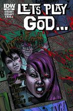 Image: Let's Play God #1 - IDW Publishing