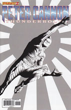 Image: Peter Cannon: Thunderbolt #2 (10-copy Lee B&W incentive cover) - Dynamite