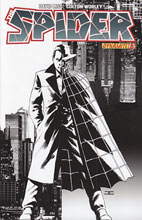 Image: The Spider #6 (15-copy Cassaday B&W incentive cover) - D. E./Dynamite Entertainment