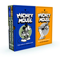 Image: Walt Disney's Mickey Mouse Volumes 3 & 4 Slipcased Set  - Fantagraphics Books