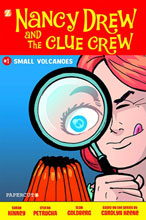Image: Nancy Drew and the Clue Crew Vol. 01: Small Volcanoes HC  - Papercutz