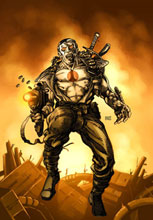 Image: Valiant Masters: Bloodshot Vol. 01 HC  - Valiant Entertainment LLC